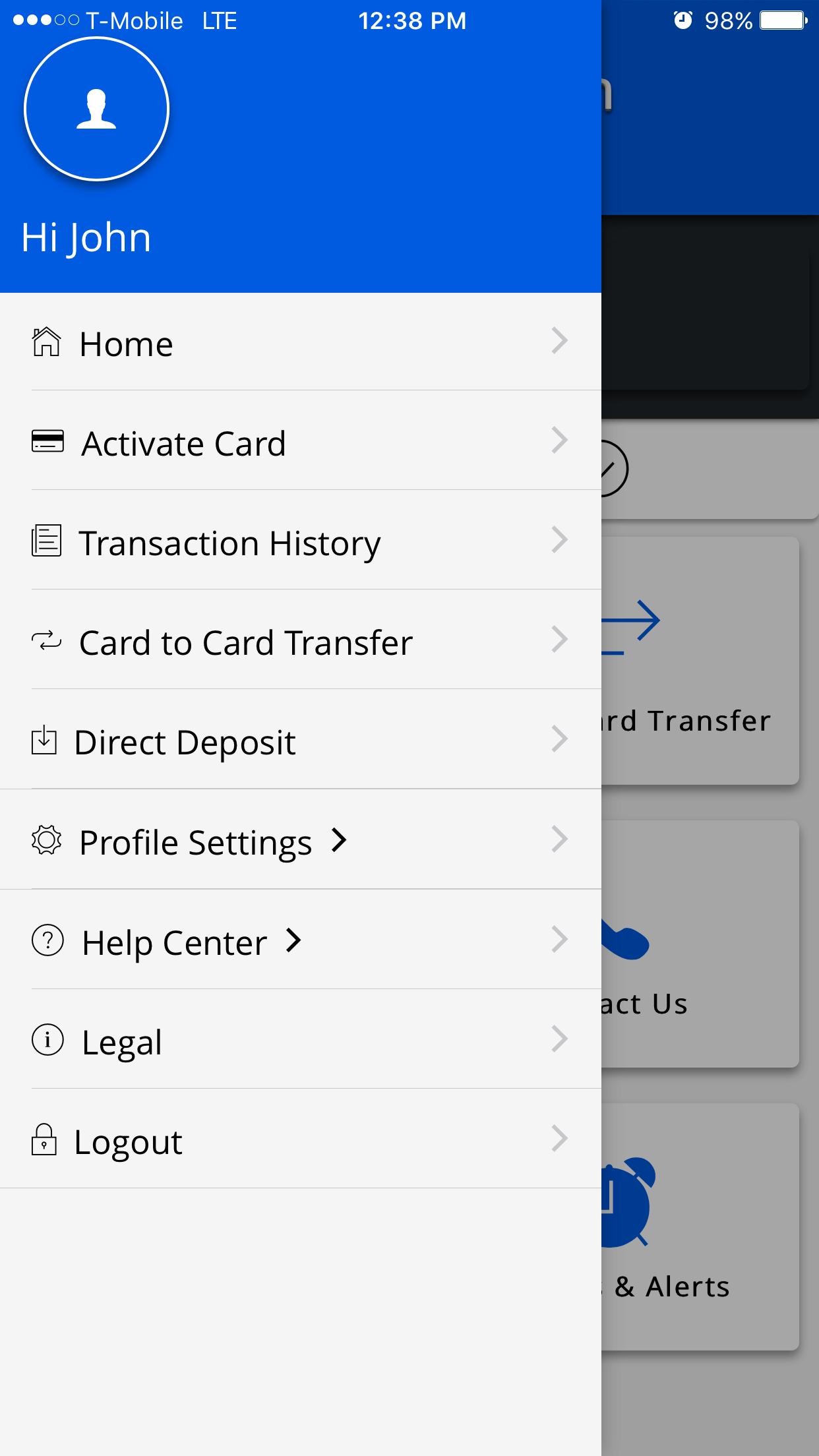 Avid Prepaid Visa Card